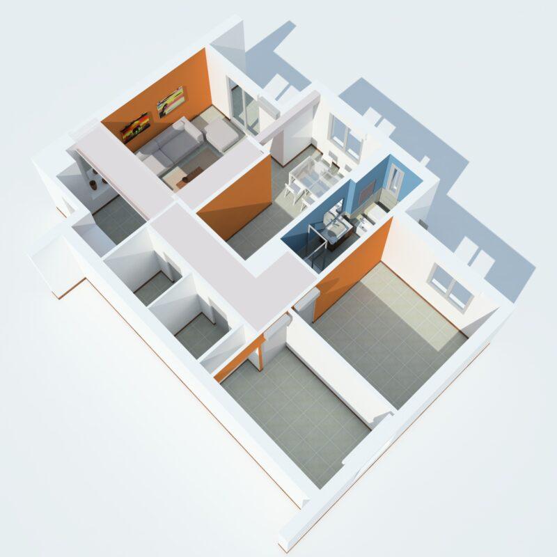 rendering 3d Acireale